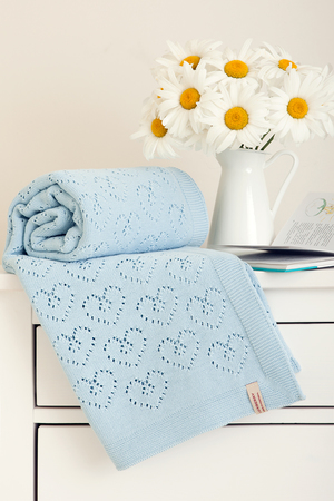 одеяла и пледы для новорождённых вязание детского пледа на выписку