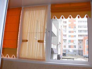 Штори на балкон - фото модних ідей і новинок в сучасному сти.