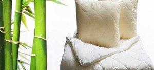Подушки и одеяла из бамбука