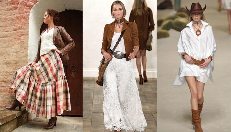 Деревенский стиль одежды