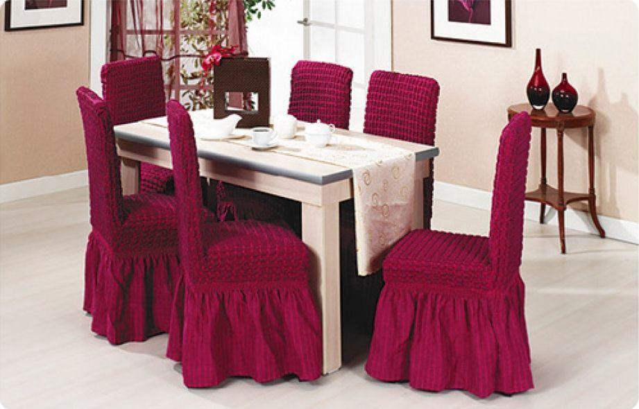 Сшить праздничные чехлы на стулья 81