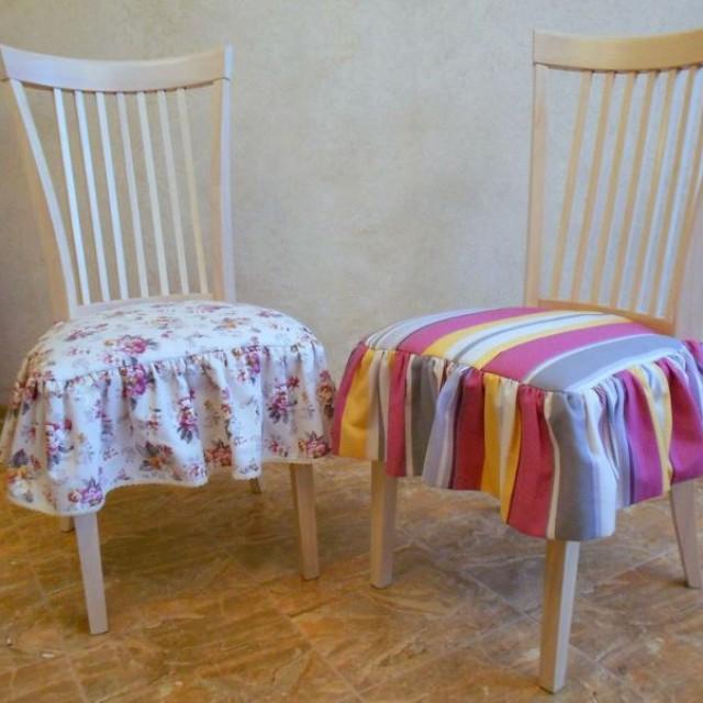 Сшить сиденья для стульев